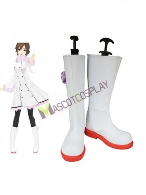 Vocaloid Meiko Imitated Leather Cosplay Shoes