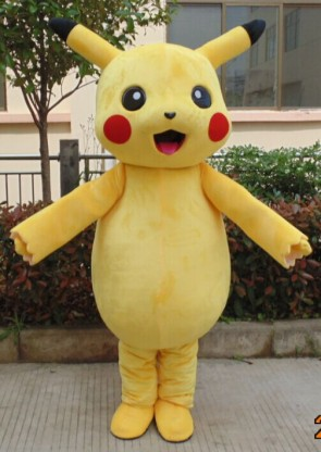 Pikachu Pokemon Pokémon Go Adult Mascot Costume Fancy Dress