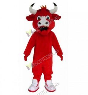Chicago Bulls Benny The Bull Mascot Costume Red Bull Mascot
