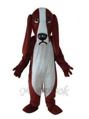 Dog Short Plush Adult Mascot Costume