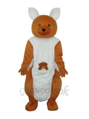 Long-feet Kangaroo Plush Mascot Adult Costume