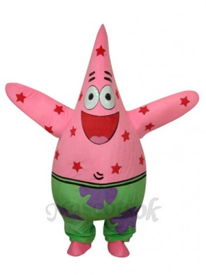 SpongeBob Patrick Star Mascot Adult Costume