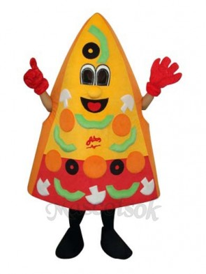 Pizza Mascot Adult Costume