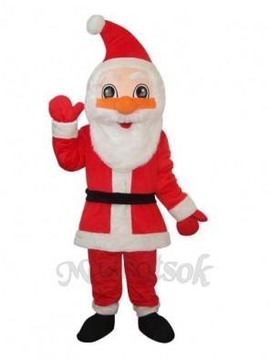 3rd Santa Claus Mascot Adult Costume
