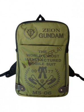 Gundam Words Print Vintage Anime Bag