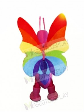 Colorful Butterfly Mascot Costumes Animal