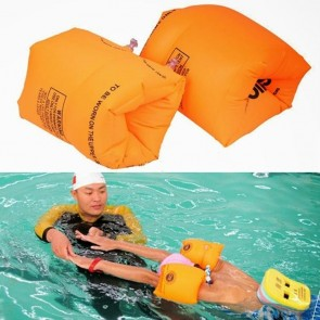 2 PCS Inflatable Air Sleeves Swimming Safety Arm Ring Floating For Adults Child