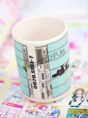 Gundam Anime Ceramic Cup Blue