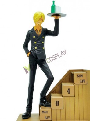 PVC One Piece Sanji Cool Anime Action Figure