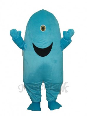 One-eyed Shark Mascot Adult Costume