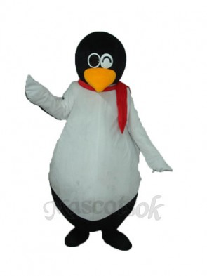 Penguin QQ Mascot Adult Costume