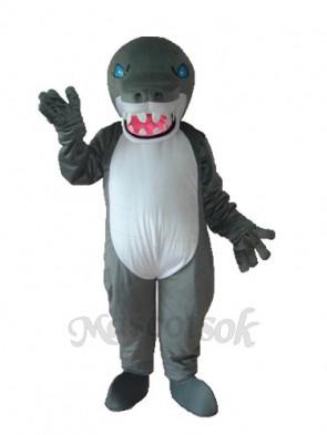 Grey Shark Mascot Adult Costume