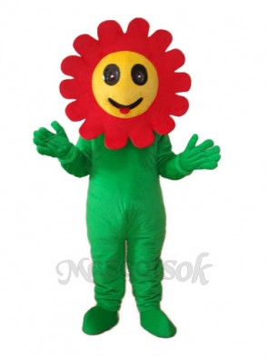Sunflower Mascot Adult Costume