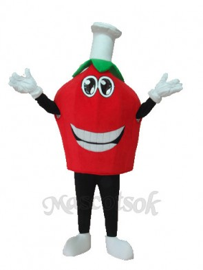 Strawberry Mascot Adult Costume