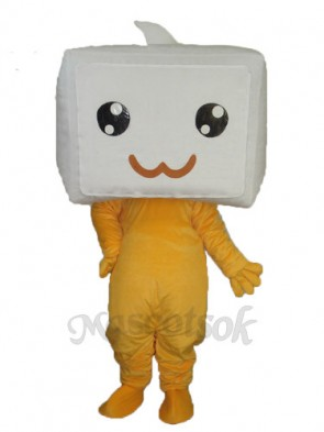Diamond Changing Face Mascot Adult Costume