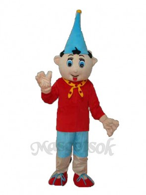 1nd Version Pinocchio Mascot Adult Costume