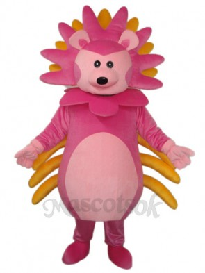 Pink Hedgehog Mascot Adult Costume