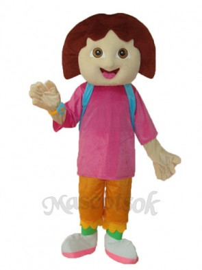 5th Dora Mascot Adult Costume