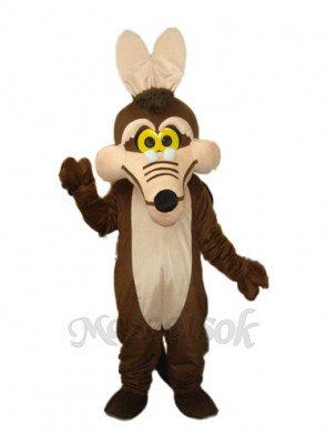 Brown Fox Mascot Adult Costume