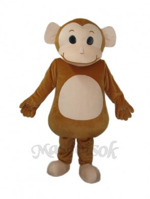Big Head Monkey Mascot Adult Costume