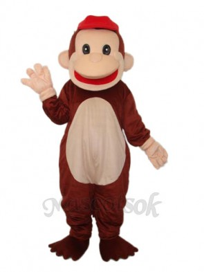 Revised Happy Monkey Mascot Adult Costume