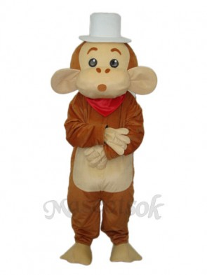 Cap Monkey Mascot Adult Costume