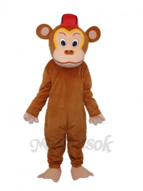 Clown Monkey (Without Vest) Mascot Adult Costume
