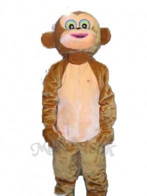 Happy Monkey Mascot Adult Costume