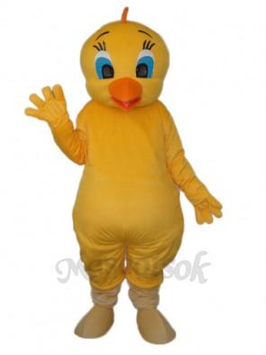 Yellow Chicken Mascot Adult Costume