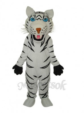 2nd Version Of The White Tiger Mascot Adult Costume