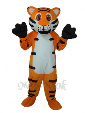 Red Tiger Mascot Adult Costume