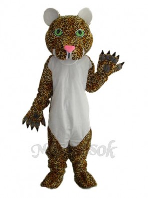 Cheetah Mascot Adult Costume