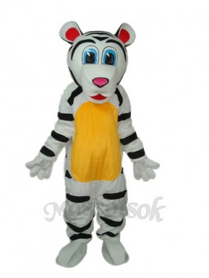 Colorful Tiger Mascot Adult Costume