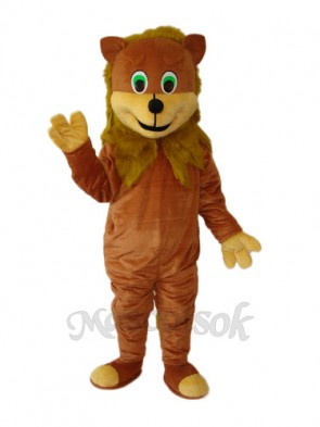 African Lion Mascot Adult Costume