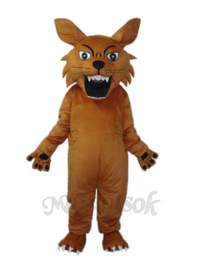 Small Tiger King Mascot Adult Costume