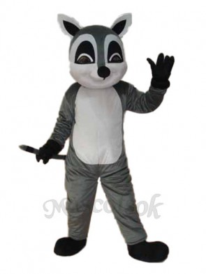 Raccoon Mascot Adult Costume