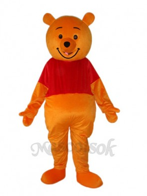 Pooh Bear Mascot Adult Costume