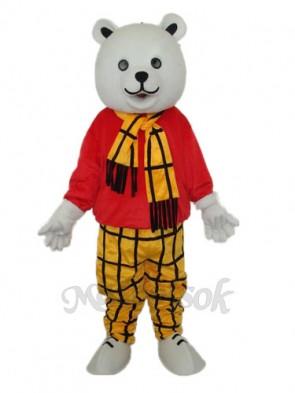 Free Bear Mascot Adult Costume