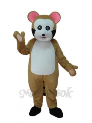 Small Brown Bobcat Mascot Adult Costume