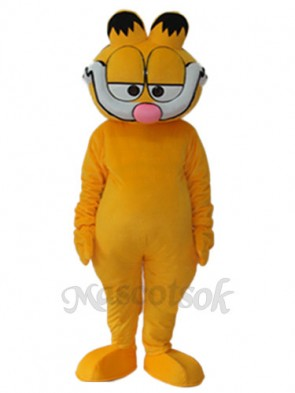 Super Cute Garfield Mascot Adult Costume