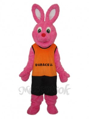Easter Deer Rabbit with Orange Vest Mascot Adult Costume