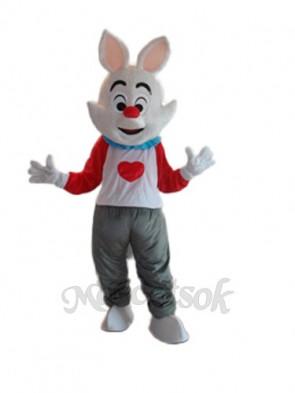Easter Dada Rabbit Mascot Adult Costume