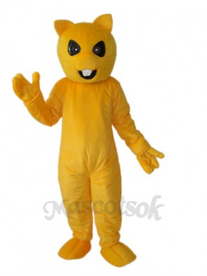 Yellow Squirrel Mascot Adult Costume