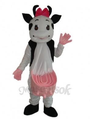 No.2 Cow Mascot Adult Costume
