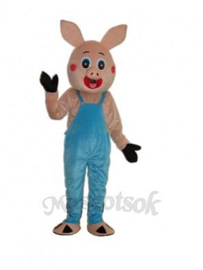 Plump Pig Mascot Adult Costume