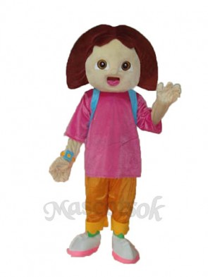 4th Dora Mascot Adult Costume