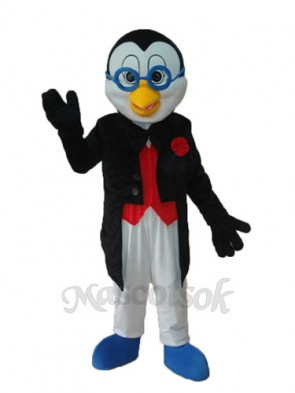 New Glasses Penguin Mascot Adult Costume