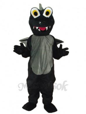 Black Dinosaurs Mascot Adult Costume