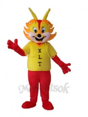 Dragons Man Mascot Adult Costume