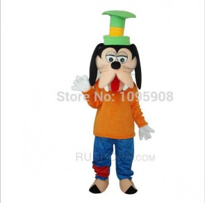 High Quality Goofy Dog Mascot Costume Cute Goofy Mascot Costume Adult Party Carnival Halloween Christmas Mascot
